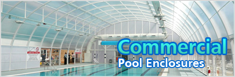commercial swimming pool enclosures