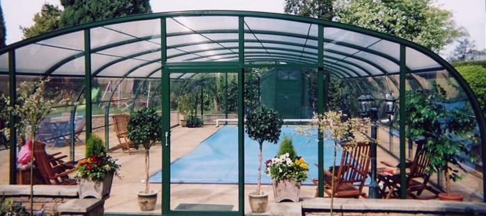 domestic swimming pool enclosure